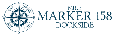 Mile Marker 158 Dockside Logo