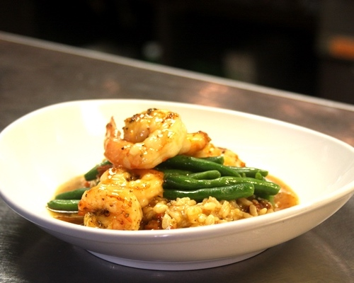 Villaggio Grille shrimp dish